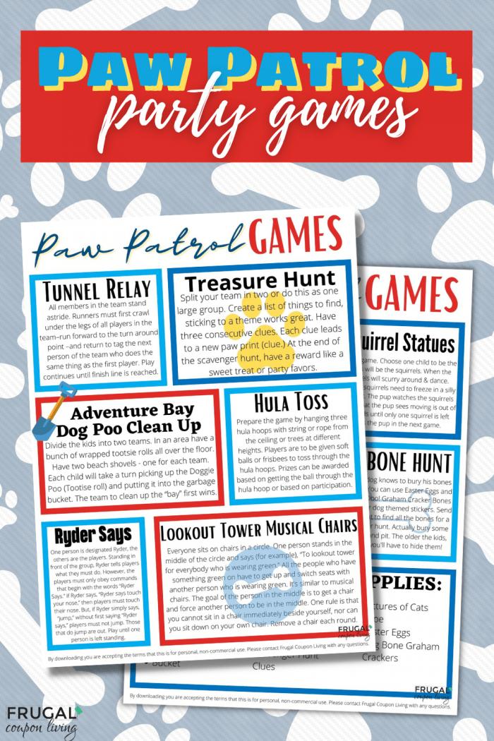 Paw Patrol Games for Kids