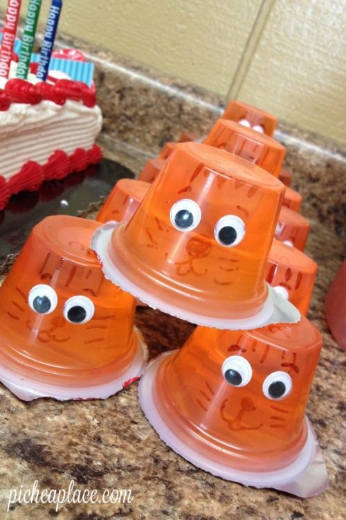 Tiger Kids Jello Cups