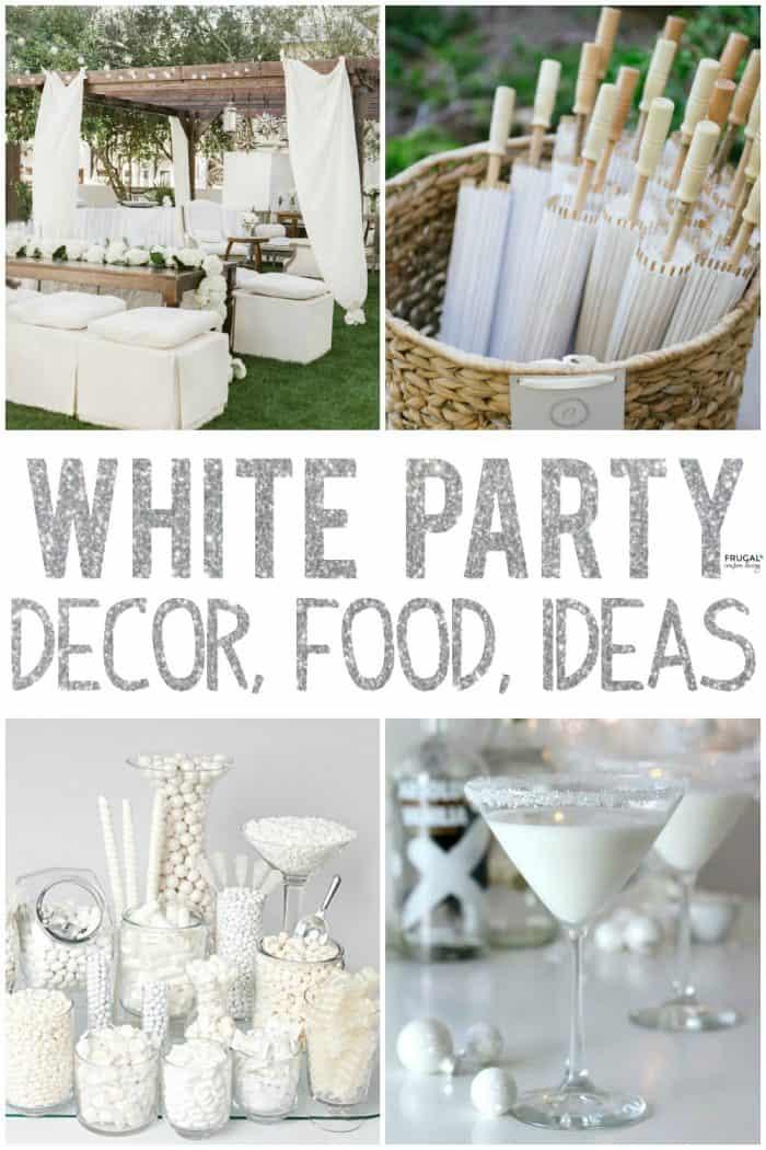 White Party Ideas