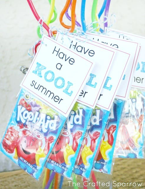 have a kool summer gift tag