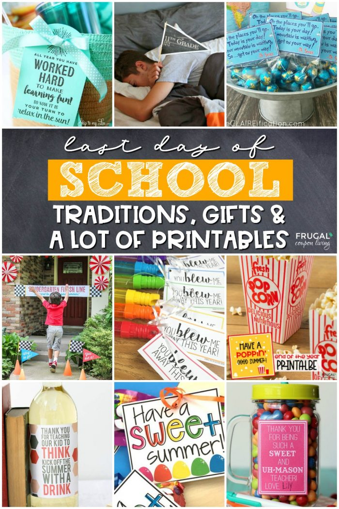 End of the School Year Printables
