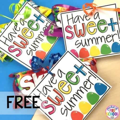 Have a Sweet Summer Gift Tag