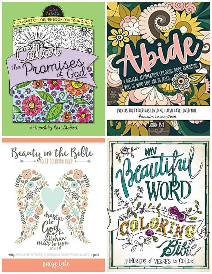 Amazon Color Bible and Coloring Books