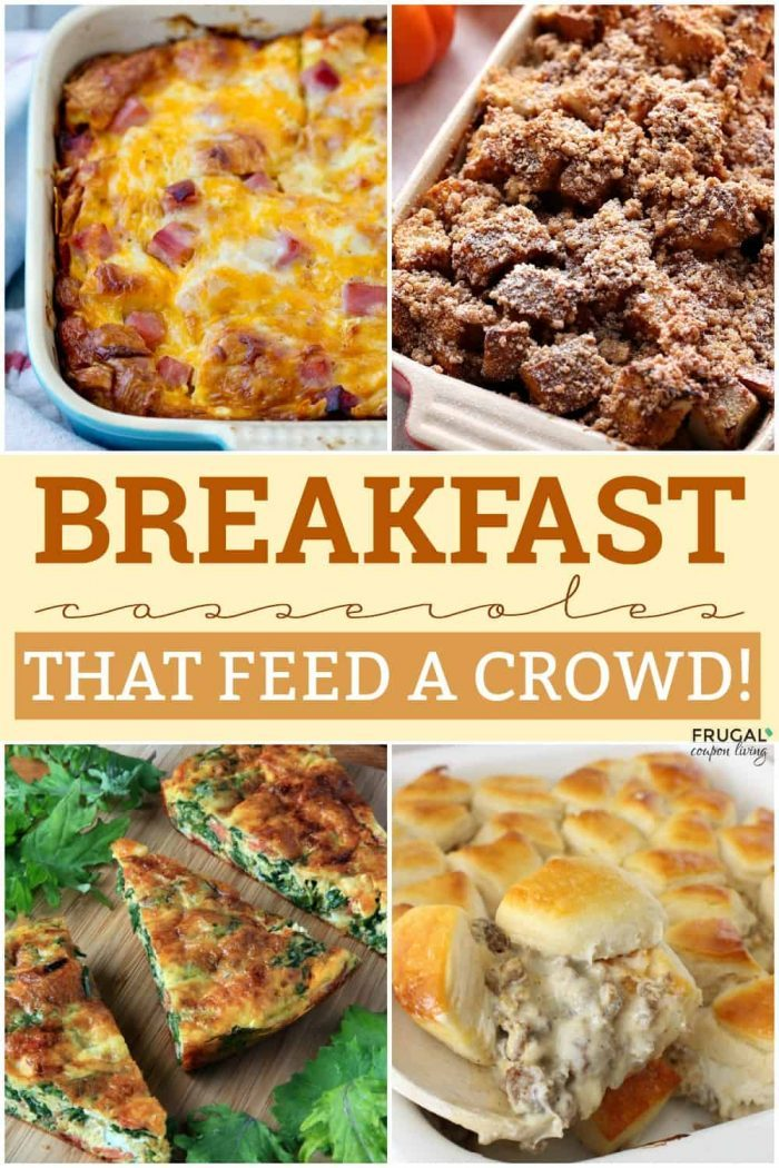 Breakfast Casseroles - Breakfast Ideas for a Large Group