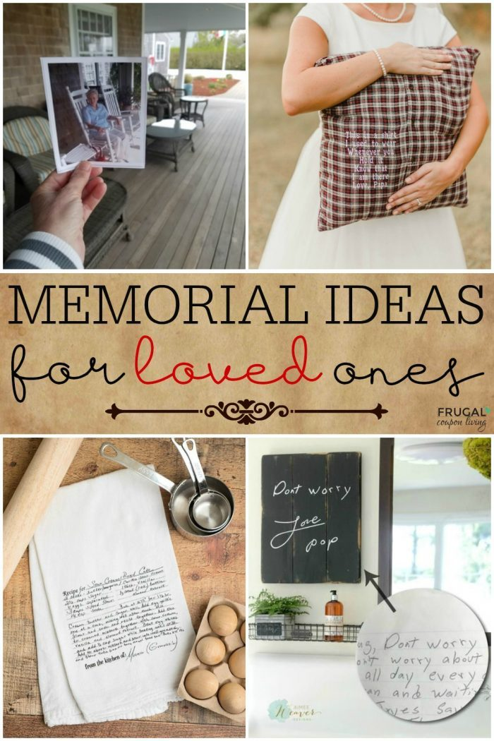 Memorial Ideas for Loved Ones