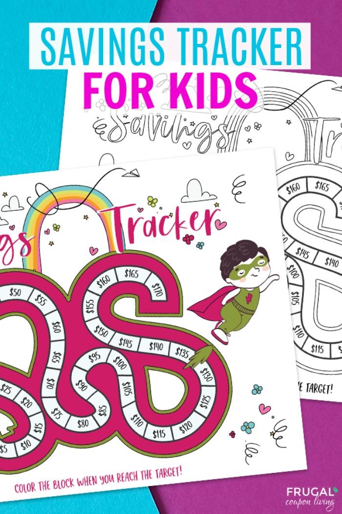 Savings Tracker for Kids