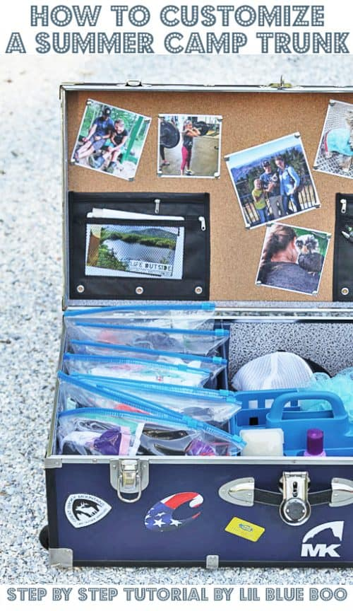 How to Pack a Summer Camp Trunk