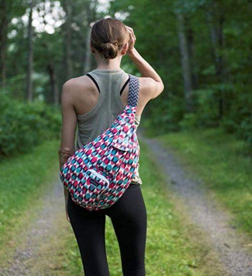 Summer Camp Rope Bag Backpack