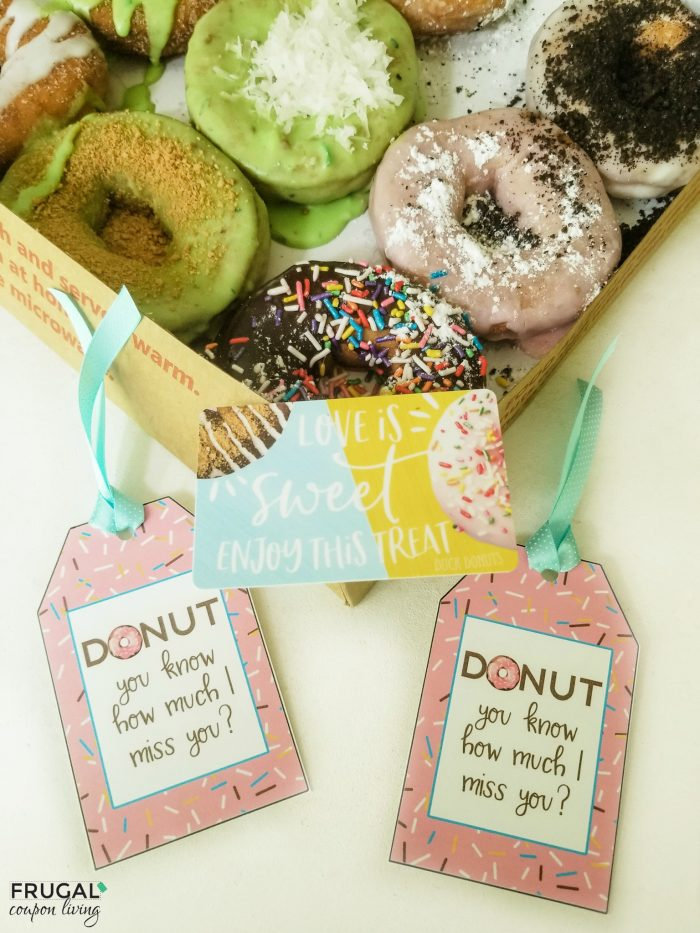 Donut Teacher Appreciation Printable Gift Tags