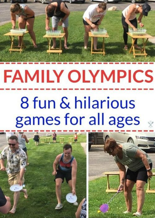 Family Olympic Game Ideas