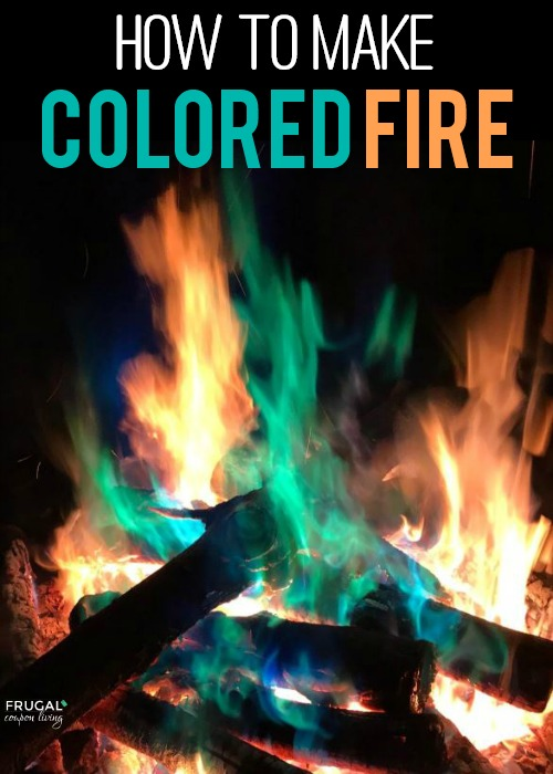How to Make Colored Fire