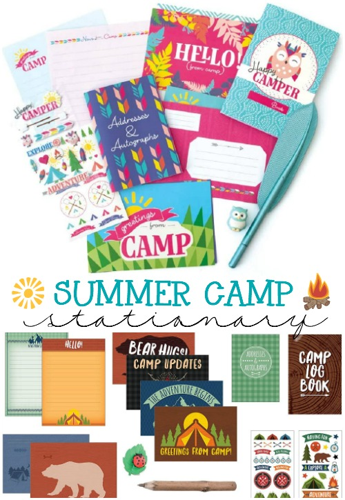 Summer Camp Stationary