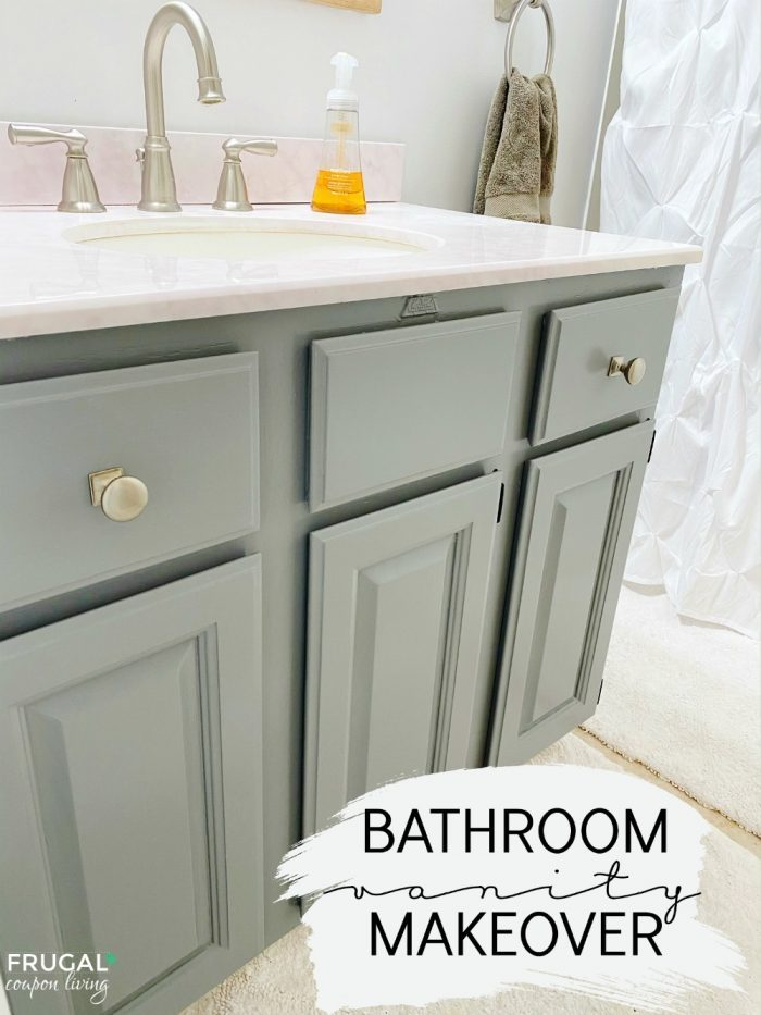 Bathroom Vanity Makeover Ideas on a Budget