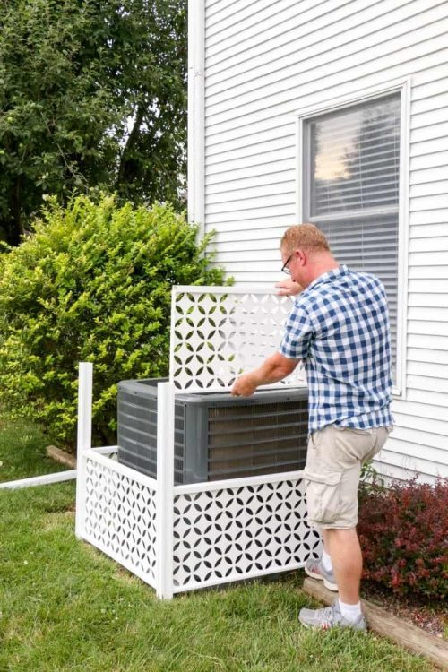 How to Hide an HVAC Unit