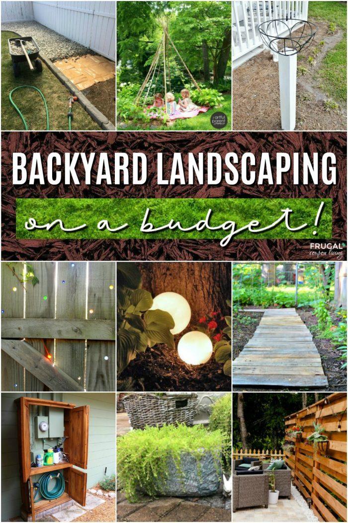 Inexpensive Backyard Landscaping Ideas
