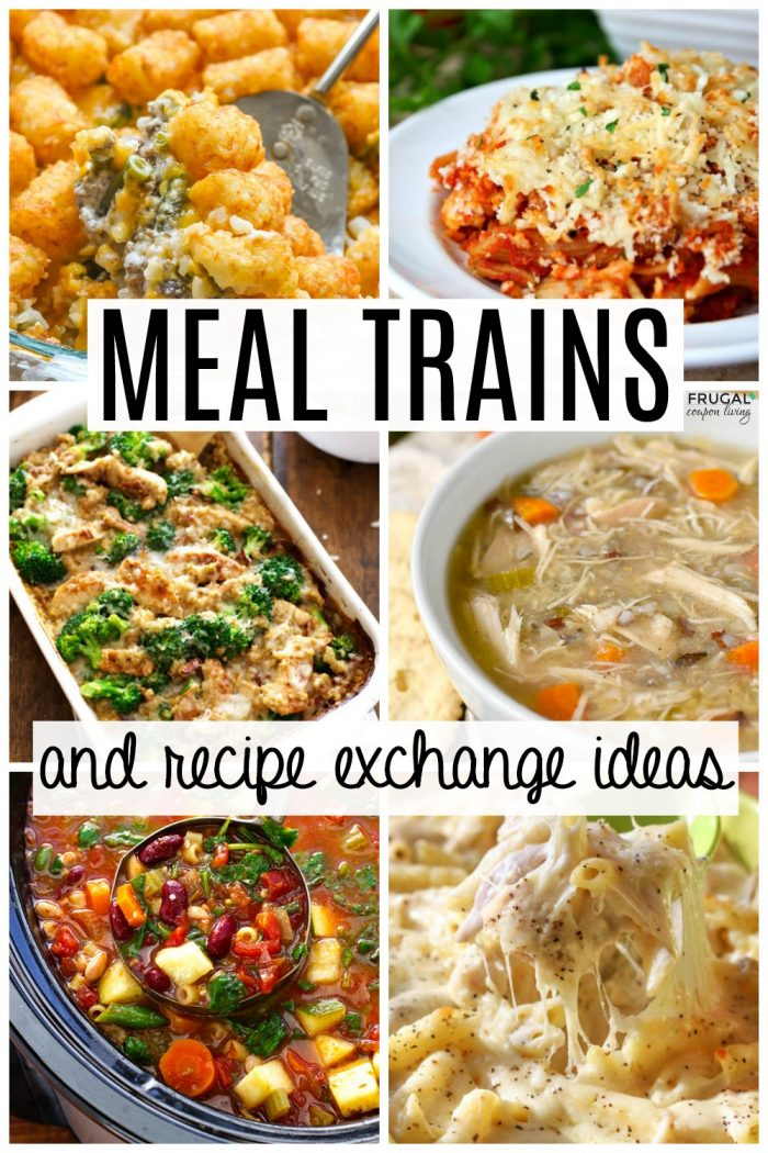 Meal Trains and Recipe Exchange Ideas
