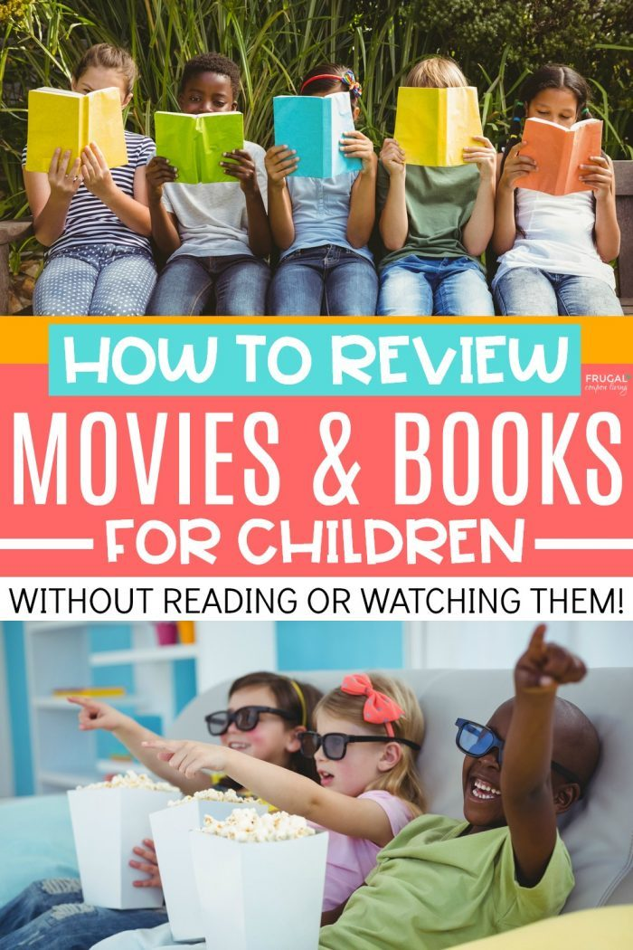 Book and movie parental rating guides for parents