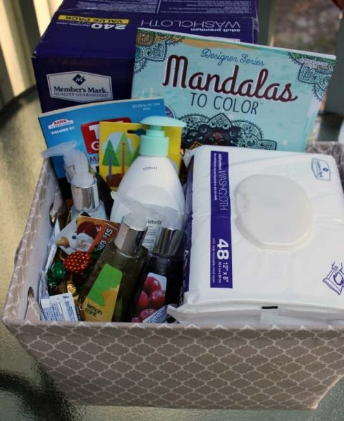 caregiver care package for doctor or nurse