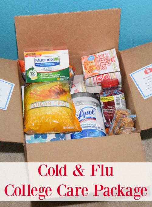 Cold and Flu Care Package for Sick Friend