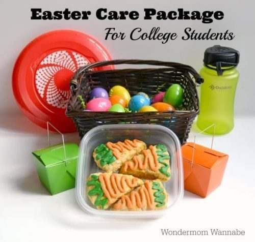 Easter care package idea