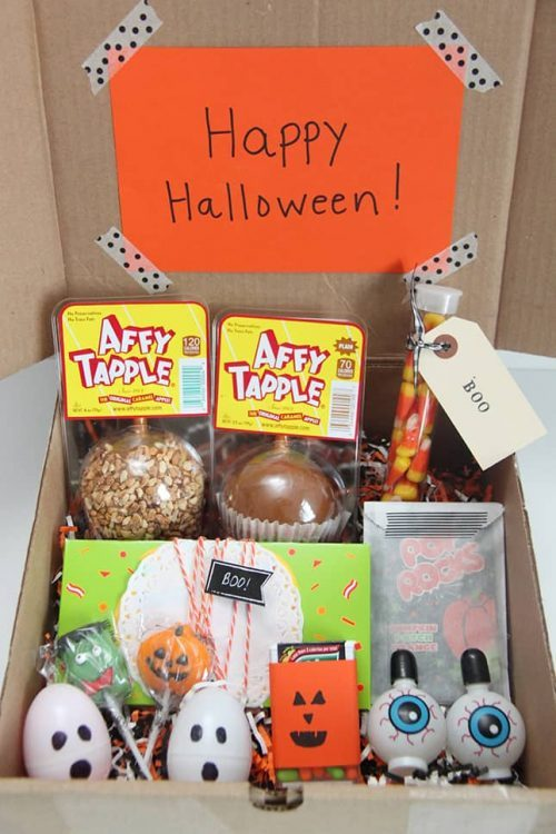 October Happy Halloween Care package