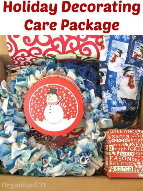 Christmas care package