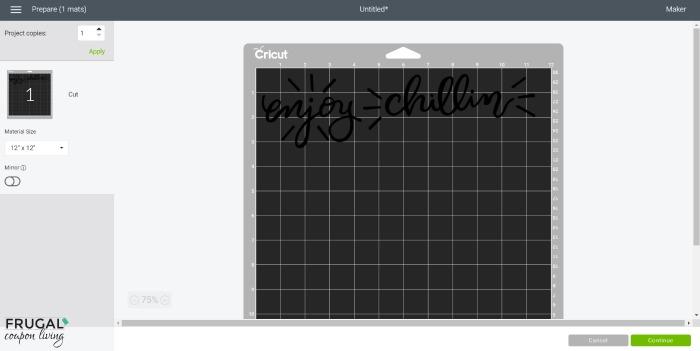 how to prepare cricut design mats