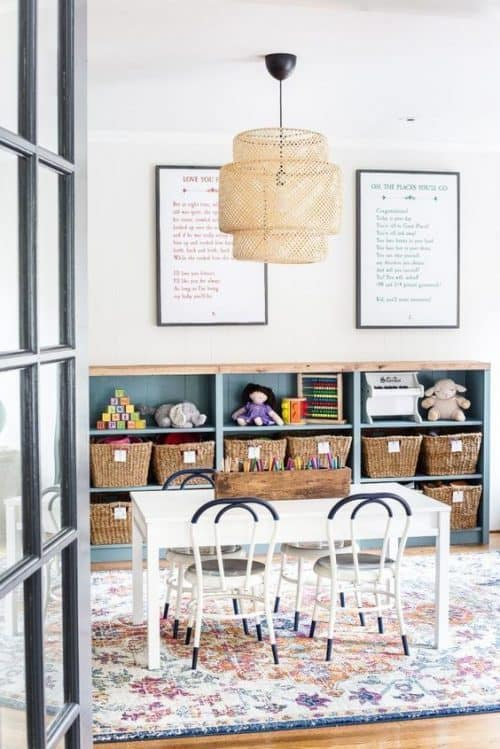 IKEA Billy Bookcase Hack Playroom