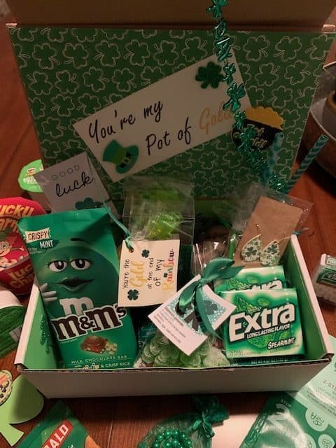 St. Patrick's Day care package Idea