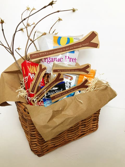 Stick with It Encouraging care package Idea