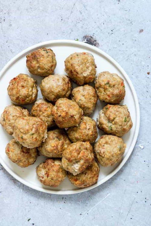ir Fryer Turkey Meatballs