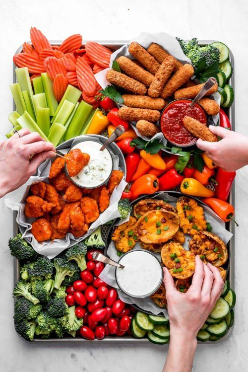 Easy Appetizer Snack Board