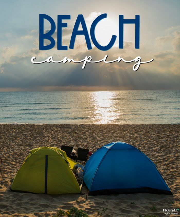 Beach Camping Basics, Hacks, and Tips - Outdoor Camping on the Sand and Surf