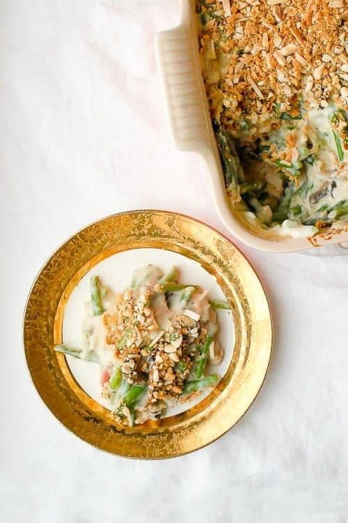 Green Bean Casserole | Thanksgiving Potluck Recipes