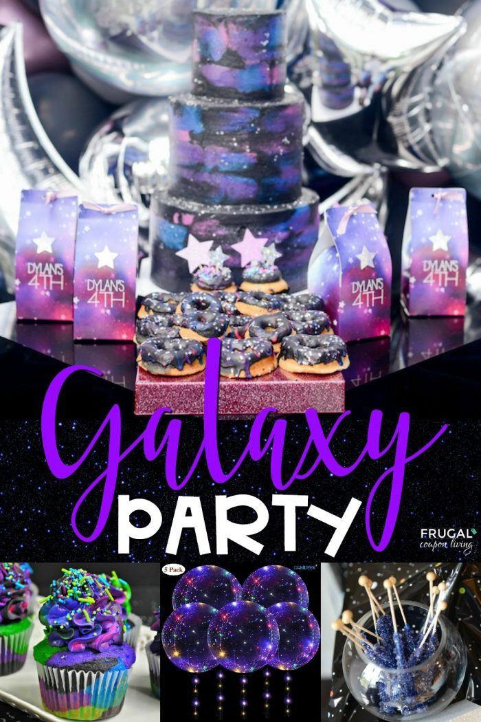 Galaxy Themed Party Ideas
