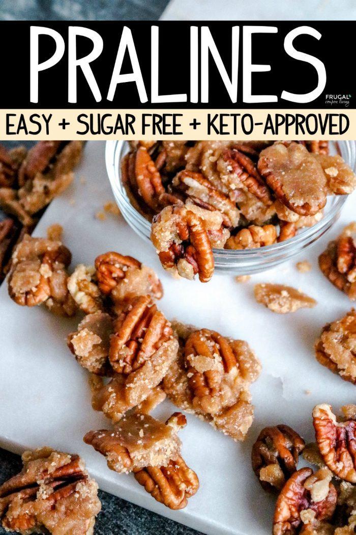 Homemade Keto Pralines Pecan Candy Recipe