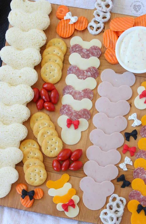 Mickey Mouse Disney Snack Board for Kids