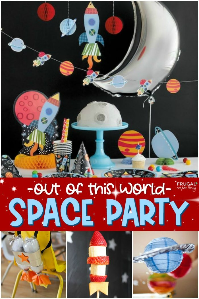 Out of this World Space Party Ideas & Galaxy Themed Birthday Parties