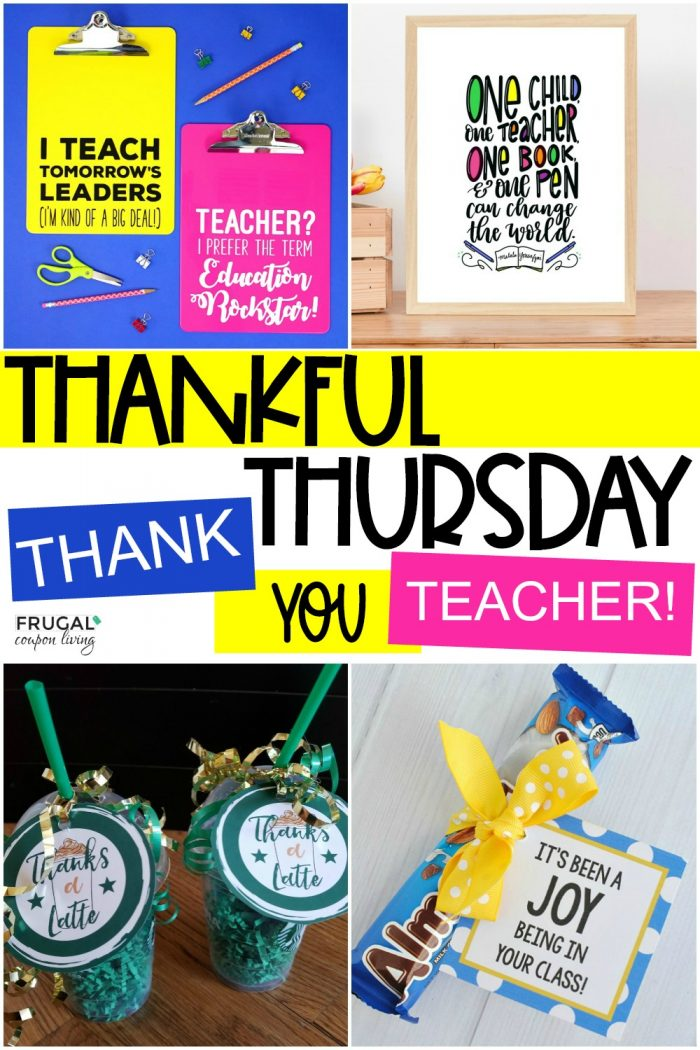thankful thursday small gift ideas for teachers