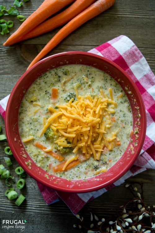 Soup Dinner Recipes for Fall - Broccoli Cheddar Soup