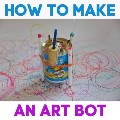 Stem Activities | How to Make an Art Bot