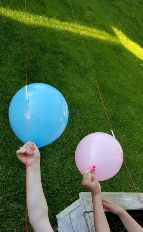 Balloon Rocket Science Experiment