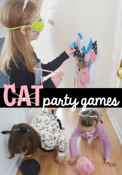 Cat Party Games and Cat Birthday Ideas