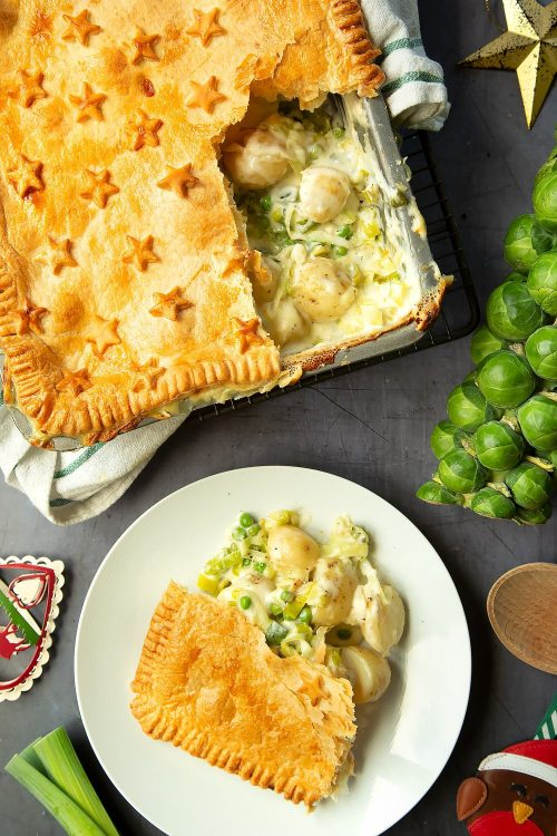 Fall Recipe Ideas Cheesy Leek and Potato Pie