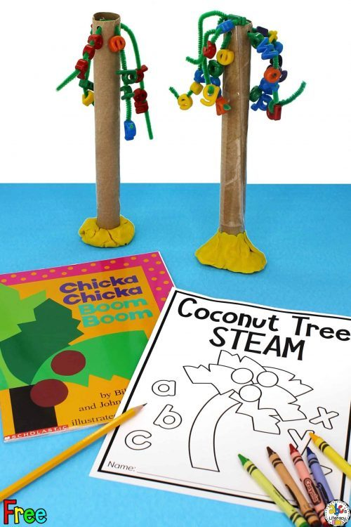 STEAM Coconut Tree Craft & STEM Projects for Kids