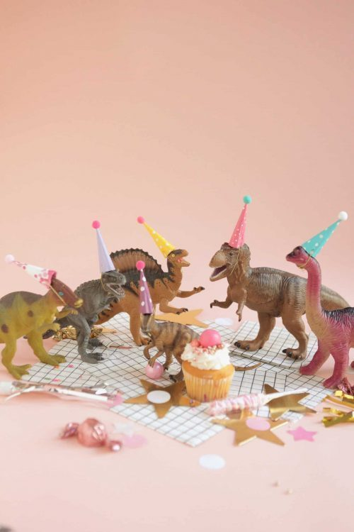Mini Party Hats Dinosaur Party Decor