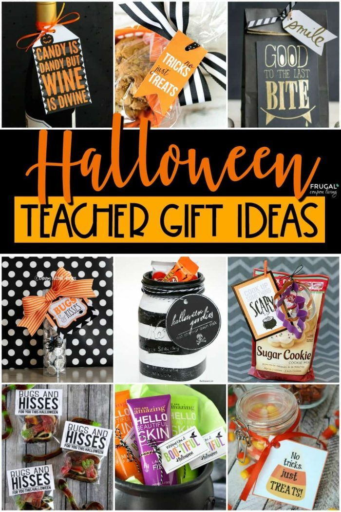 Halloween Teacher Appreciation Gifts in October