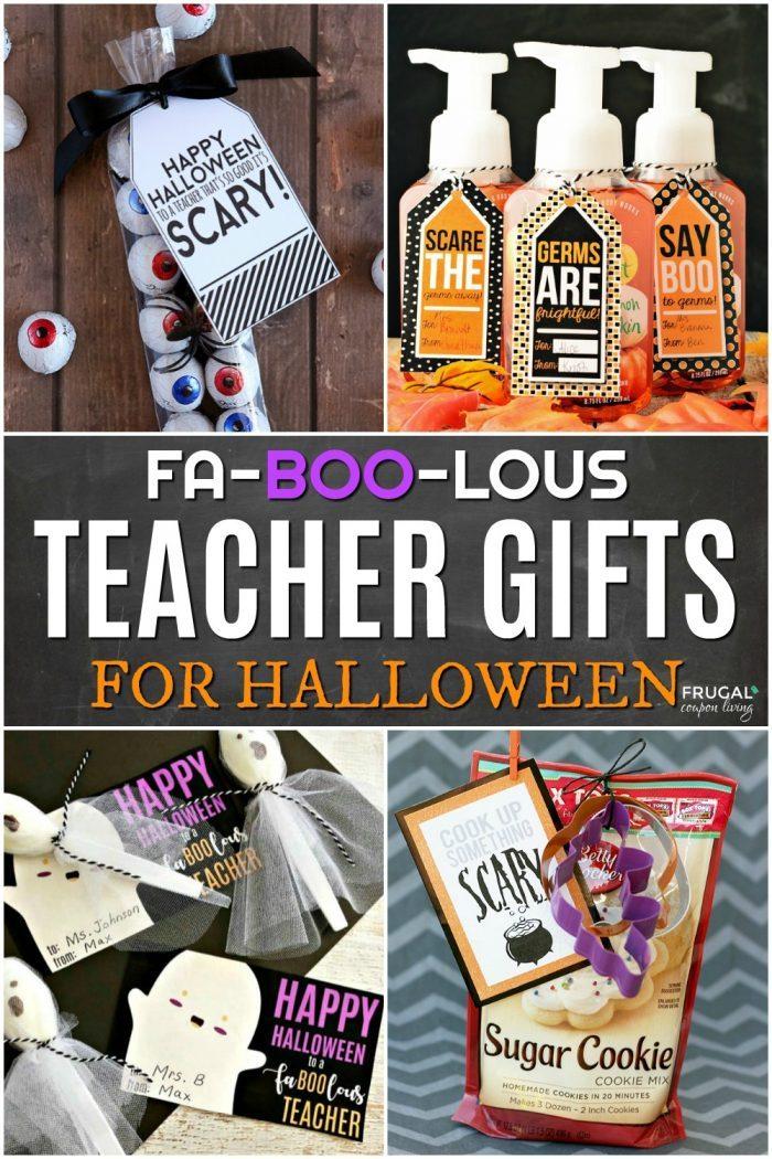Spooktacular Halloween Teacher Gift Ideas For A Fa Boo Lous Educator