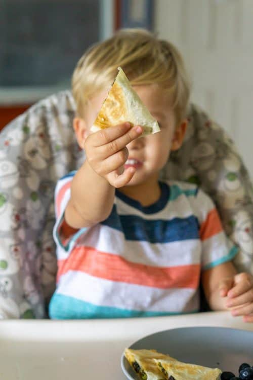 Kid Approved Broccoli Quesadillas