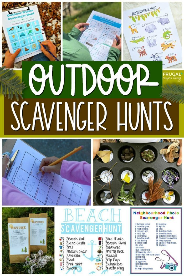 Outdoor Scavenger Hunts for Kids